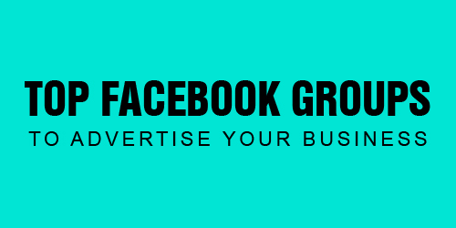 top facebook group to advertise your business