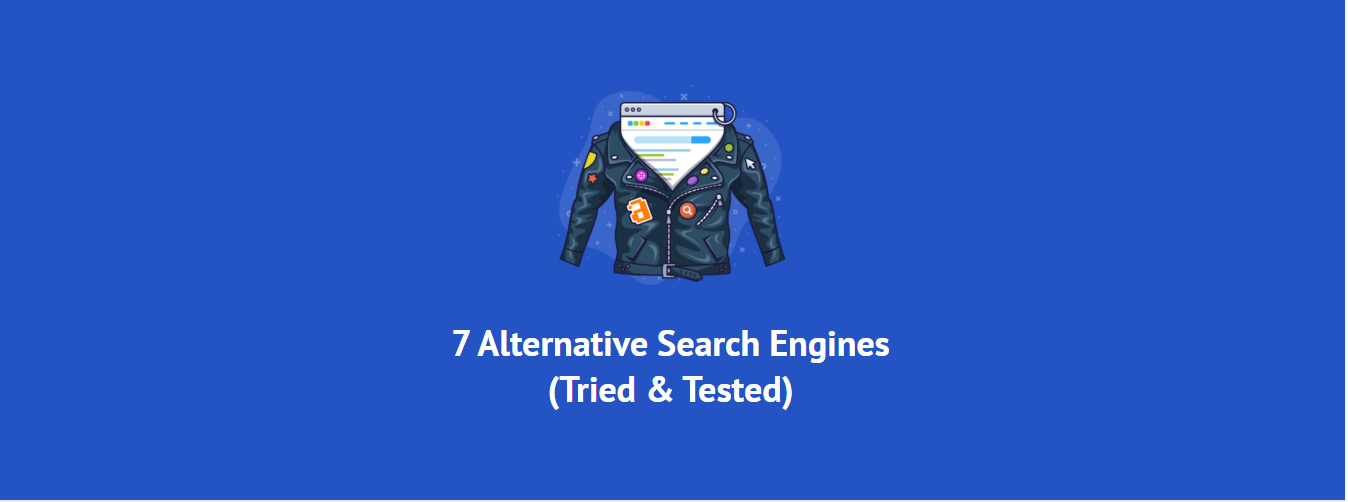alternative Search Engines apart from google and bing