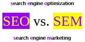 The Difference Between SEM and SEO 1